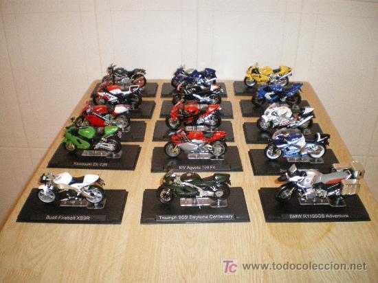 OFERTA SUPER LOTE DE MOTOS DE COLECCION VER FOTOS (Juguetes - Motos a Escala)