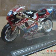 Motos a escala: MOTO GP SUZUKI GSX-R 1000 GUYOT SCARNATO DUSSAUGE 2001 - ALTAYA - ESC 1/24. Lote 25355810