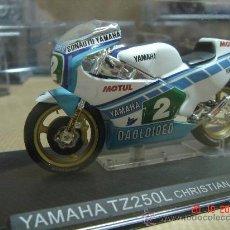 Motos em escala: MOTO GP YAMAHA TZ250L CHRISTIAN SARRON 1984 - ALTAYA - ESC: 1/24. Lote 19377323