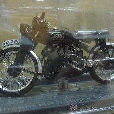 Motos a escala: MOTO VINCENT HRD BLACK SHADOW 1954 ¡¡NUEVA¡¡ ALTAYA - ESC: 1/24. Lote 134730061