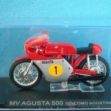 Motos a escala: MOTO COMPETICIÓN CLASICAS - MV AUGUSTA 500 (1967) GIACOMO AGOSTINI- COLECCION ALTAYA. Lote 17488287