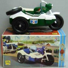Motos a escala: MOTO CON SIDECAR POLICIA MOLTO AÑOS 70. Lote 45974362