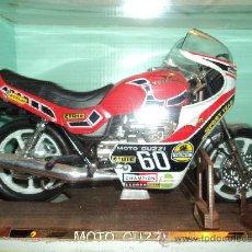 Motos a escala: MOTO GUZZI V 65 LARIO CARRERA, ESCALA 1/10, MARCA GUILOY, REF. 13532. Lote 26954742