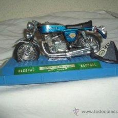 Motos in scale: HONDA CB 750 FOUR,NACORAL,CAJA ORIGINAL. Lote 23441630