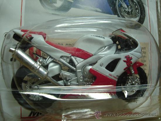 Motos a escala: MODELOS - MOTOS - YAMAHA YZF R1 ¡¡NUEVA¡¡¡ - CON LA COLABORACION MOTOCICLISMO - Foto 2 - 23553980
