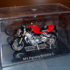 Motos a escala: MOTO MV AUGUSTA BRUTALE S - 1/24. Lote 26012618