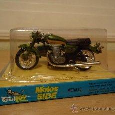 Motos a escala: MOTO CON SIDECAR - YAMAHA OCH 750 - (GUILOY) AÑOS 70 NUEVO EN BLISTER. Lote 102123151