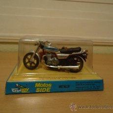 Motos a escala: MOTO CON SIDECAR - HONDA CB 900 - (GUILOY) AÑOS 70 NUEVO EN BLISTER. Lote 102123166