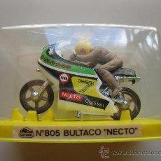 Motos a escala: BULTACO NECTO - Nº 805 - MOTO MINIATURA METAL - GUISVAL - AÑOS 70/80 - NUEVA.. Lote 25605899