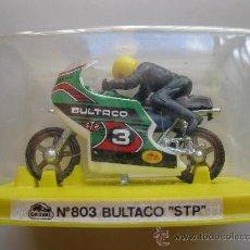 Motos a escala: BULTACO STP - Nº 803 - MOTO MINIATURA METAL - GUISVAL - AÑOS 70/80 - NUEVA.. Lote 25608369
