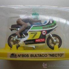 Motos a escala: BULTACO NECTO - Nº 805 - MOTO MINIATURA METAL - GUISVAL - AÑOS 70/80 - NUEVA.. Lote 25683364