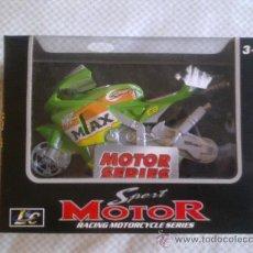 Motos a escala: SPORT MOTOR RACING MOTORCYCLE SERIES - NUEVA A ESTRENAR - NIÑOS MAYORES 3 AÑOS - . Lote 27202458