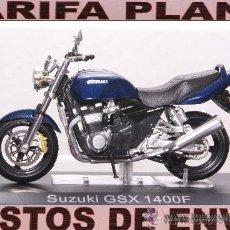 Motos a escala: SUZUKI GSX 1400F ESCALA 1:24 DE ALTAYA EN SU CAJA. Lote 27434167