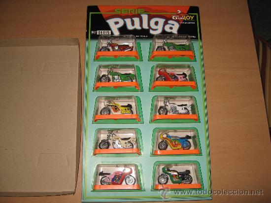Expositor 10 motos metal die cast en caja serie - Sold