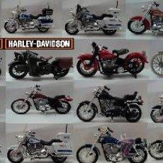 Motos a escala: COLECCION HARLEY DAVISON ESCALA 1;18. Lote 28414643