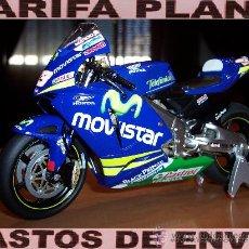 Motos a escala: HONDA RC211V 2005 MARCO MELANDRI ESCALA 1:12 DE ALTAYA EN SU BLISTER. Lote 28492677