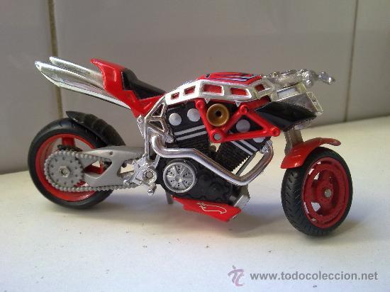 Motos a escala: preciosa moto de hot wheels de mattel en metal 2002 ver fotos - Foto 4 - 29618427