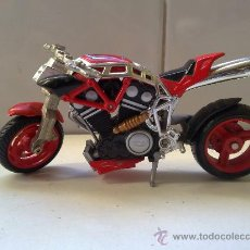 Motos a escala: PRECIOSA MOTO DE HOT WHEELS DE MATTEL EN METAL 2002 VER FOTOS. Lote 29618427
