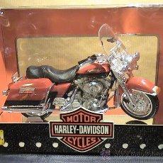 Motos a escala: HARLEY DAVIDSON FLHR ROAD KING 1999 E:1/18. Lote 30538991