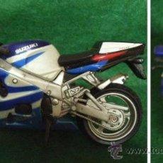 Motos a escala: LOTE MAISTO - MOTO SUZUKI RGSX 750 - ESC.1/18- EDICION COLECCIONISTA. Lote 30650930