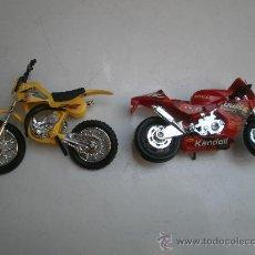 Motos a escala: MOTO SUZUKI Y MOTO GP DE PLASTICO. Lote 31128932