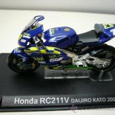 Motos a escala: HONDA RC211V MOTO ALTAYA DAIJIRO KATO. Lote 31164569