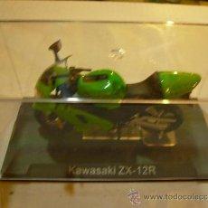 Motos a escala: MOTO KAWASAKI ZX-12R ALTAYA. Lote 31395991