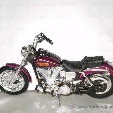 Motos a escala: MOTO HARLEY DAVIDSON , ESCALA 1/18 . DYNA LOW . DE MAISTO . . Lote 32521683