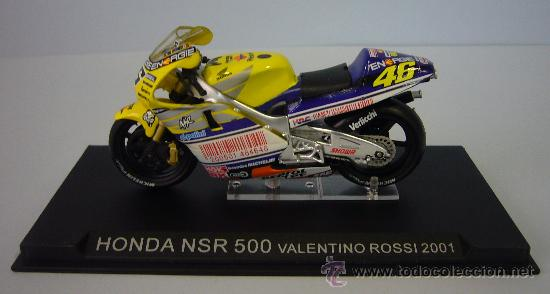 Motos a escala: HONDA NSR 500 de VALENTINO ROSI 2001 - Foto 5 - 32554468