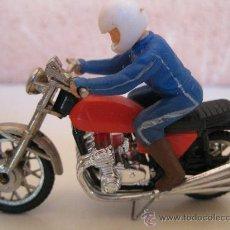 Motos a escala: MOTO EN MINIATURA DE METAL DE LA MARCA GUISVAL - AÑOS 70/80.. Lote 32564735