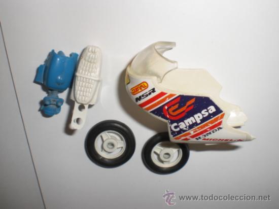 PIEZAS MOTO GUISVAL CAMPSA (Juguetes - Motos a Escala)