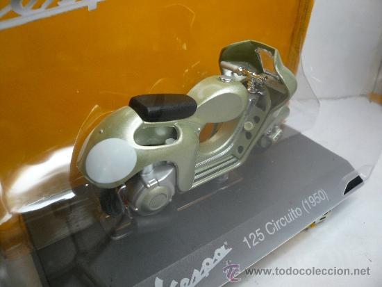 Motos a escala: VESPA 125 CIRCUITO 1950 - Foto 3 - 34984437