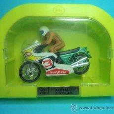 Motos in scale: MOTO KAWASAKI Z 1000 ZIR DE JUGUETES MIRA - AÑOS 70 - NUEVO - REF. 2303. Lote 35620341