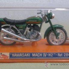 Motos a escala: KAWASAKY MACH IV - DE GUILOY EN CAJA A ESTRENAR.. Lote 35846521