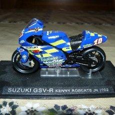 Motos a escala: SUZUKI GSV-R. KENNY ROBERTS JR. 2002. COLECCIÓN ALTAYA.. Lote 188887715