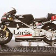 Motos a escala - 3. HONDA NSR500 - Loris CAPIROSSI 2002. Con su fascículo núm 3 - 36259516