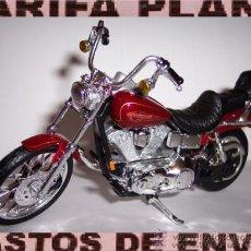 Motos a escala: MOTO HARLEY DAVIDSON ESCALA 1:18 DE MAISTO EN SU BLISTER. Lote 36492489