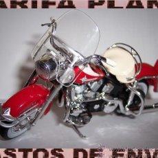 Motos a escala: MOTO HARLEY DAVIDSON ESCALA 1:18 DE MAISTO EN SU BLISTER. Lote 36505734