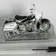 Motos a escala: HARLEY-DAVIDSON FLH ELECTRA GLIDE 1970 - MOTO A ESCALA - JUGUETE - NUEVA - TRANSPORTE ¿ ALTAYA ?. Lote 36579478