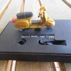 Motos a escala: VESPA EN MINIATURA VESPA RALLY 180 1968 METALICA. Lote 38112388