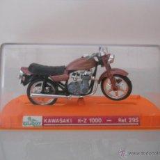 Motos a escala: MOTO GUILOY KAWASAKI K-Z 1000. REF 295. EN CAJA.. Lote 39466968