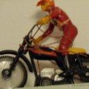 Motos a escala: PRECIOSO JUGUETE ANTIGUO MOTO BULTACO CON MANDO AÑOS 70. Lote 40022251