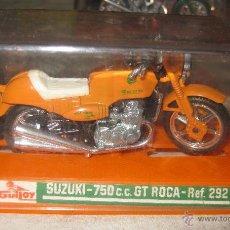Motos a escala: SUZUKI GT ROCA REF. 292 DE GUILOY. Lote 40620651
