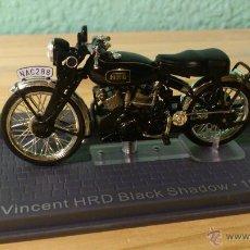 Motos a escala: MOTO A ESCALA VINCENT HDR BLACK SHADOW 1954. Lote 48476118