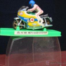 Motos a escala: MOTO GUZZI GOODYEAR - GUISVAL. Lote 41010611