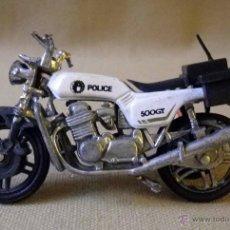 Motos a escala: MOTO, MOTO METAL, POLICIA, 500 GT, 9 X 5 CM. Lote 41134232