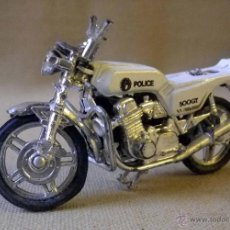 Motos a escala: MOTO, MOTO METAL, POLICIA, 500 GT, 9 X 5 CM. Lote 41134268