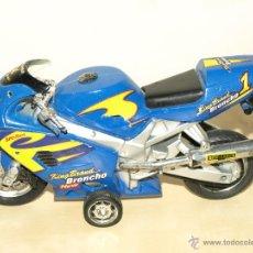 Motos a escala: MOTO DE FRICCION. 22 X 11,5 CM. VER FOTOS Y DESCRIPCION.. Lote 42788810