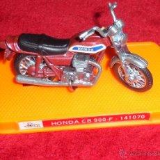 Motos a escala: MOTO HONDA CB 900 DE METAL RF. 141070 GUILOY MADE IN SPAIN. Lote 45532642