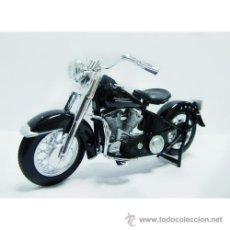 Motos a escala: REPRODUCCION A ESCALA 1/18-HARLEY DAVIDSON 1953 74FL HYDRA GLIDE . MAISTO AÑO 2011 .. Lote 47769589